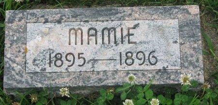 BAUER, MAMIE - Dodge County, Nebraska | MAMIE BAUER - Nebraska Gravestone Photos
