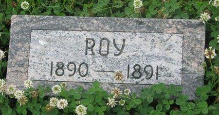 BAUER, ROY (FOOTSTONE) - Dodge County, Nebraska | ROY (FOOTSTONE) BAUER - Nebraska Gravestone Photos