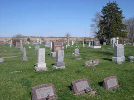 *BLUFFS CEMETERY, VIEW OF - Dodge County, Nebraska | VIEW OF *BLUFFS CEMETERY - Nebraska Gravestone Photos