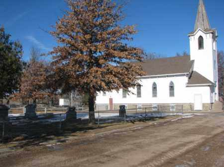 *BLUFFS CEMETERY, TRINITY LUTHERAN CHURCH - Dodge County, Nebraska | TRINITY LUTHERAN CHURCH *BLUFFS CEMETERY - Nebraska Gravestone Photos