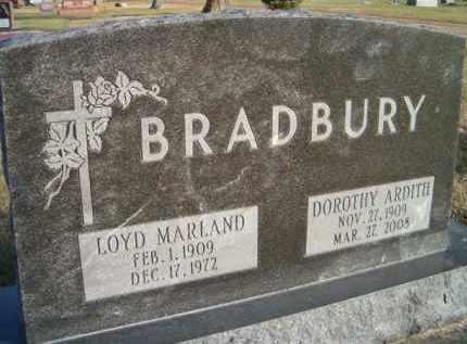 LADD BRADBURY, DOROTHY ARDITH - Dodge County, Nebraska | DOROTHY ARDITH LADD BRADBURY - Nebraska Gravestone Photos