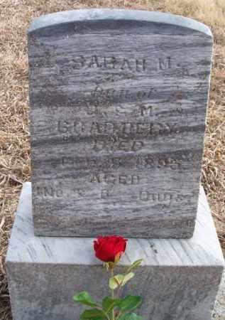 BRADBURY, SARAH M - Dodge County, Nebraska | SARAH M BRADBURY - Nebraska Gravestone Photos