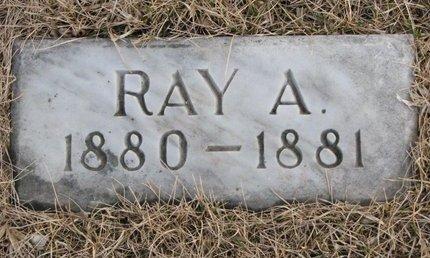 CHAMBERLIN, RAY A. - Dodge County, Nebraska | RAY A. CHAMBERLIN - Nebraska Gravestone Photos