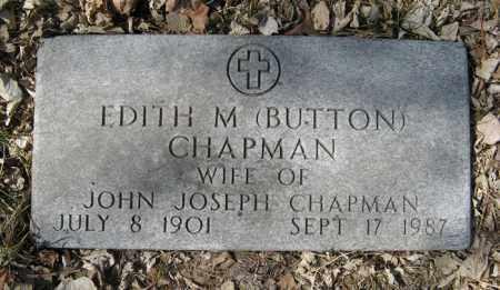 BUTTON CHAPMAN, EDITH M. - Dodge County, Nebraska | EDITH M. BUTTON CHAPMAN - Nebraska Gravestone Photos