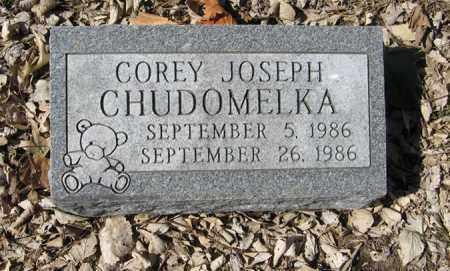 CHUDOMELKA, COREY JOSEPH - Dodge County, Nebraska   COREY JOSEPH CHUDOMELKA - Nebraska Gravestone Photos