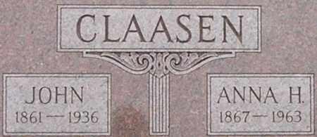 POPKEN CLAASEN, ANNA - Dodge County, Nebraska | ANNA POPKEN CLAASEN - Nebraska Gravestone Photos