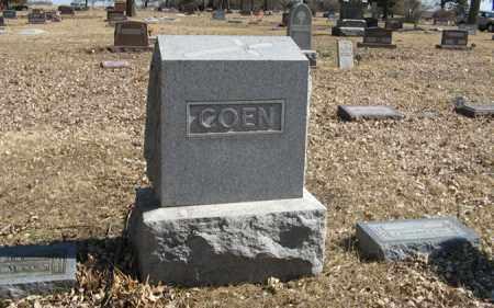 COEN, FAMILY - Dodge County, Nebraska | FAMILY COEN - Nebraska Gravestone Photos
