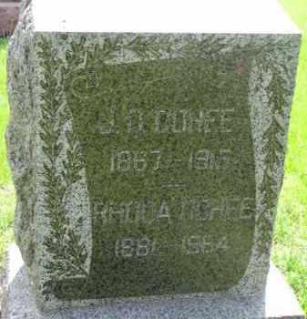 COHEE, RHODA - Dodge County, Nebraska   RHODA COHEE - Nebraska Gravestone Photos