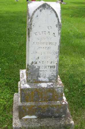DOBBINS, ELIZA A. - Dodge County, Nebraska | ELIZA A. DOBBINS - Nebraska Gravestone Photos