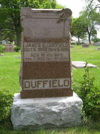 DUFFIELD, ADA M. - Dodge County, Nebraska | ADA M. DUFFIELD - Nebraska Gravestone Photos