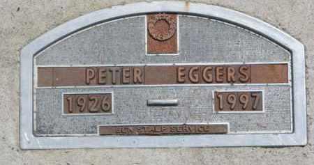 EGGERS, PETER - Dodge County, Nebraska | PETER EGGERS - Nebraska Gravestone Photos