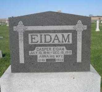 EIDAM, ANNA - Dodge County, Nebraska   ANNA EIDAM - Nebraska Gravestone Photos
