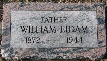 EIDAM, WILLIAM - Dodge County, Nebraska | WILLIAM EIDAM - Nebraska Gravestone Photos