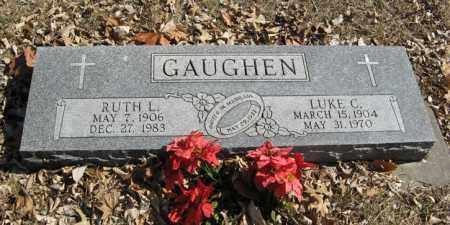 GAUGHEN, LUKE C. - Dodge County, Nebraska | LUKE C. GAUGHEN - Nebraska Gravestone Photos