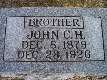 GIESE, JOHN C H - Dodge County, Nebraska | JOHN C H GIESE - Nebraska Gravestone Photos