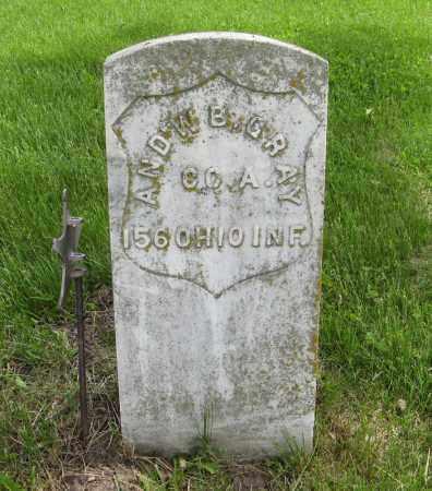 GRAY, AND'W B. - Dodge County, Nebraska | AND'W B. GRAY - Nebraska Gravestone Photos