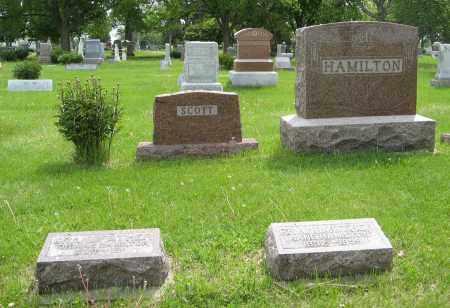 HAMILTON-SCOTT, (FAMILY PLOT) - Dodge County, Nebraska | (FAMILY PLOT) HAMILTON-SCOTT - Nebraska Gravestone Photos