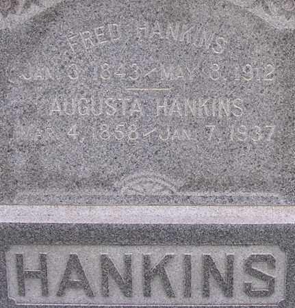 HANKINS, AUGUSTA - Dodge County, Nebraska   AUGUSTA HANKINS - Nebraska Gravestone Photos