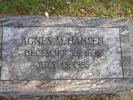 HANSEN, AGNES - Dodge County, Nebraska | AGNES HANSEN - Nebraska Gravestone Photos