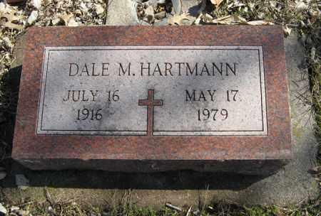 HARTMANN, DALE M. - Dodge County, Nebraska | DALE M. HARTMANN - Nebraska Gravestone Photos