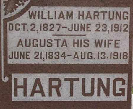 HARTUNG, WILLIAM - Dodge County, Nebraska | WILLIAM HARTUNG - Nebraska Gravestone Photos