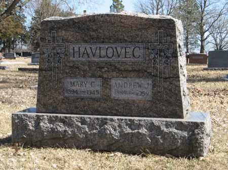 HAVLOVEC, ANDREW J. - Dodge County, Nebraska | ANDREW J. HAVLOVEC - Nebraska Gravestone Photos
