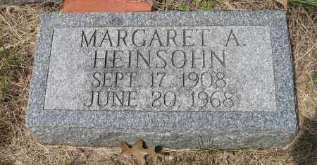 HEINSOHN, MARGARET A. - Dodge County, Nebraska   MARGARET A. HEINSOHN - Nebraska Gravestone Photos