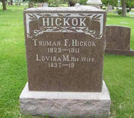 HICKOK, TRUMAN F. - Dodge County, Nebraska | TRUMAN F. HICKOK - Nebraska Gravestone Photos
