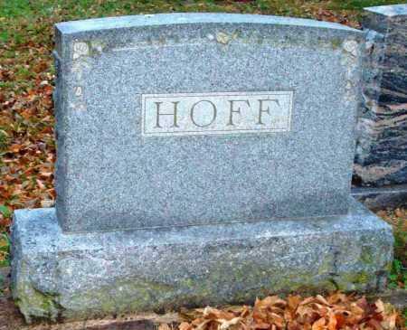 HOFF, A. E. AND ELIZABETH - Dodge County, Nebraska | A. E. AND ELIZABETH HOFF - Nebraska Gravestone Photos