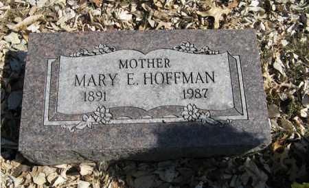 HOFFMAN, MARY E. - Dodge County, Nebraska | MARY E. HOFFMAN - Nebraska Gravestone Photos