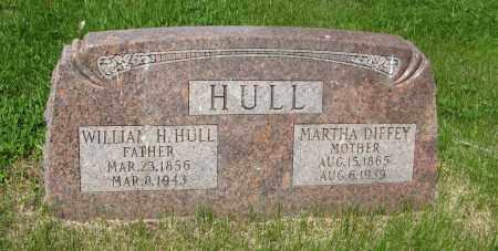 HULL, WILLIAM H. - Dodge County, Nebraska   WILLIAM H. HULL - Nebraska Gravestone Photos