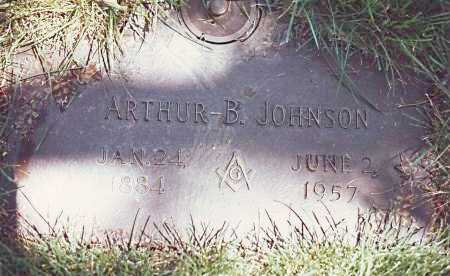 JOHNSON, ARTHUR BLAINE - Dodge County, Nebraska | ARTHUR BLAINE JOHNSON - Nebraska Gravestone Photos