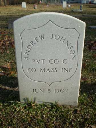 JOHNSON, ANDREW - Dodge County, Nebraska | ANDREW JOHNSON - Nebraska Gravestone Photos