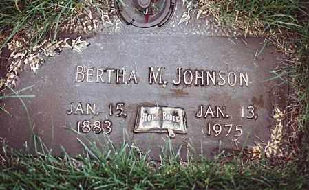 JOHNSON, BERTHA MATILDA - Dodge County, Nebraska   BERTHA MATILDA JOHNSON - Nebraska Gravestone Photos
