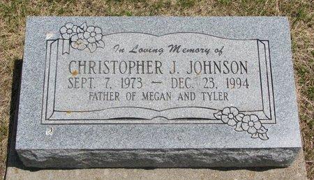 JOHNSON, CHRISTOPHER J. - Dodge County, Nebraska | CHRISTOPHER J. JOHNSON - Nebraska Gravestone Photos