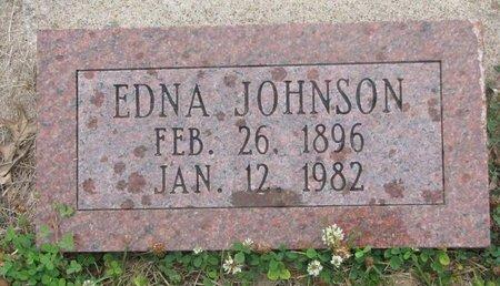 JOHNSON, EDNA - Dodge County, Nebraska | EDNA JOHNSON - Nebraska Gravestone Photos