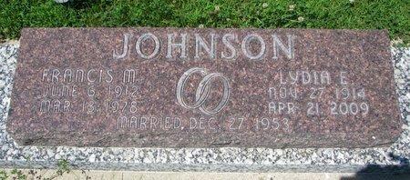 JOHNSON, FRANCIS M. - Dodge County, Nebraska | FRANCIS M. JOHNSON - Nebraska Gravestone Photos