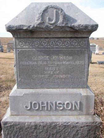 JOHNSON, GEORGE - Dodge County, Nebraska | GEORGE JOHNSON - Nebraska Gravestone Photos