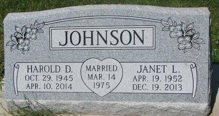 JOHNSON, JANET L. - Dodge County, Nebraska | JANET L. JOHNSON - Nebraska Gravestone Photos