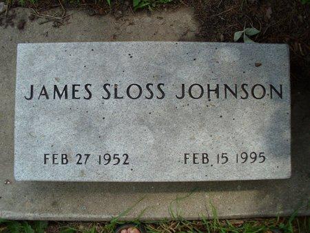 JOHNSON, JAMES SLOSS - Dodge County, Nebraska | JAMES SLOSS JOHNSON - Nebraska Gravestone Photos