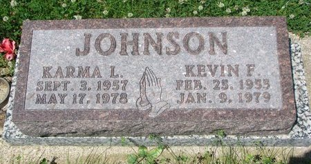 JOHNSON, KEVIN F. - Dodge County, Nebraska | KEVIN F. JOHNSON - Nebraska Gravestone Photos
