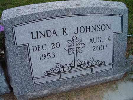 JOHNSON, LINDA K. - Dodge County, Nebraska | LINDA K. JOHNSON - Nebraska Gravestone Photos