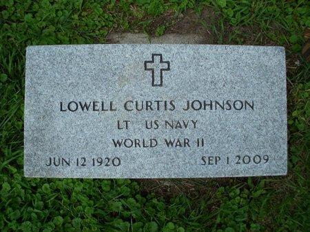 JOHNSON, LOWELL CURTIS - Dodge County, Nebraska   LOWELL CURTIS JOHNSON - Nebraska Gravestone Photos