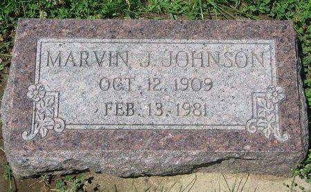 JOHNSON, MARVIN J. - Dodge County, Nebraska | MARVIN J. JOHNSON - Nebraska Gravestone Photos