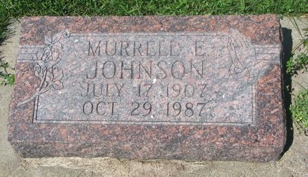 JOHNSON, MURRELL E. - Dodge County, Nebraska | MURRELL E. JOHNSON - Nebraska Gravestone Photos