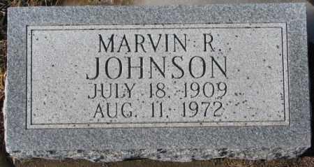 JOHNSON, MARVIN R. - Dodge County, Nebraska | MARVIN R. JOHNSON - Nebraska Gravestone Photos