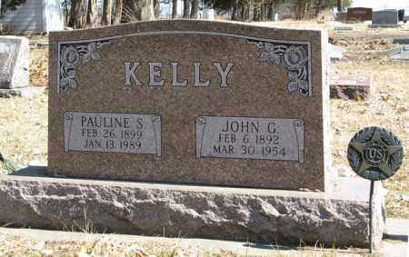 KELLY, JOHN G. - Dodge County, Nebraska | JOHN G. KELLY - Nebraska Gravestone Photos