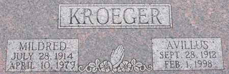 KROEGER, MILDRED - Dodge County, Nebraska | MILDRED KROEGER - Nebraska Gravestone Photos