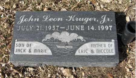 KRUGER, JR., JOHN LEON - Dodge County, Nebraska | JOHN LEON KRUGER, JR. - Nebraska Gravestone Photos