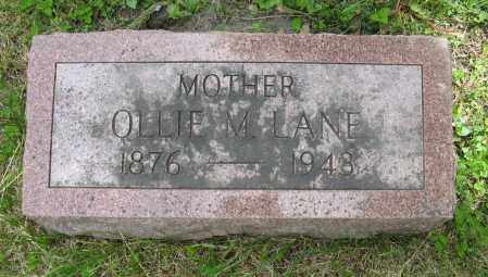 LANE, OLLIE M. - Dodge County, Nebraska | OLLIE M. LANE - Nebraska Gravestone Photos